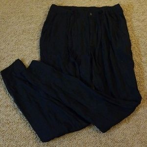 H&M trouser pants with pockets and drawstring
